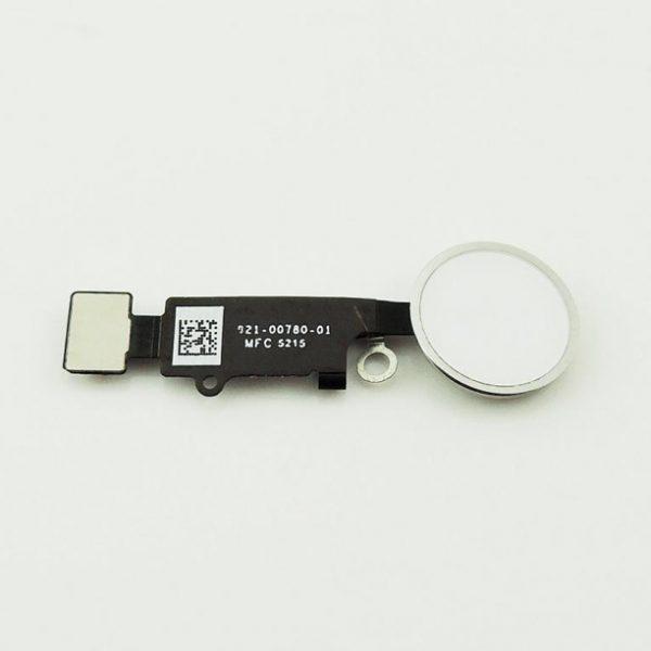 iPhone 7 / 7 Plus Hjemknapp med Flex - Sølv