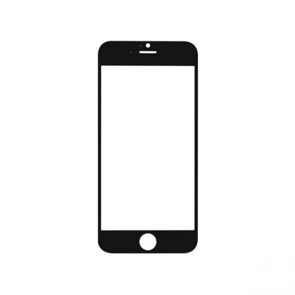 iPhone 7 Glass - Svart