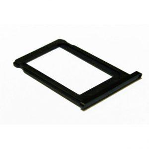 iPhone 7 Simkortholder/Svart matt