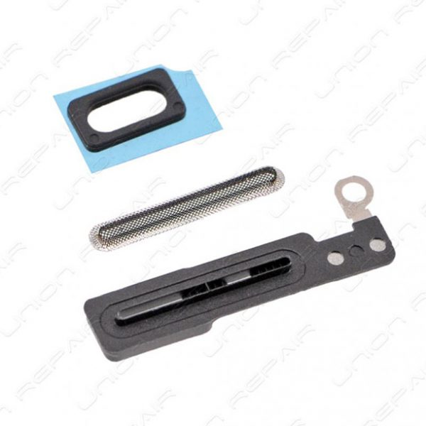 IPhone 7 hodetelefonnett gummigjennomføring & pakning 3 deler