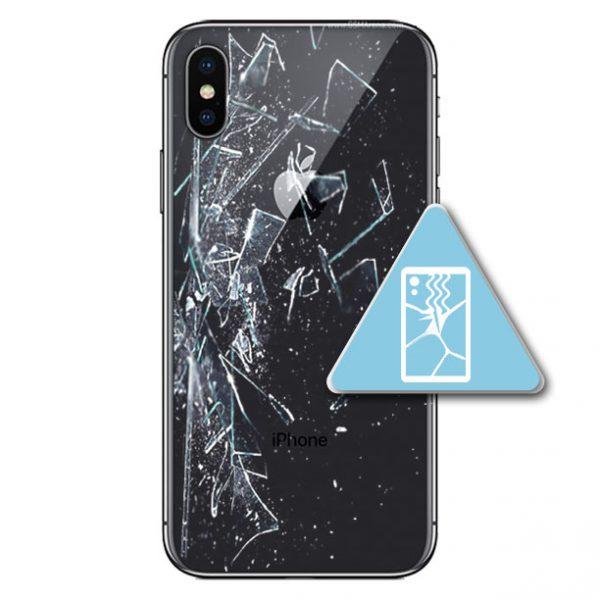 iPhone X BakGlass Skifte
