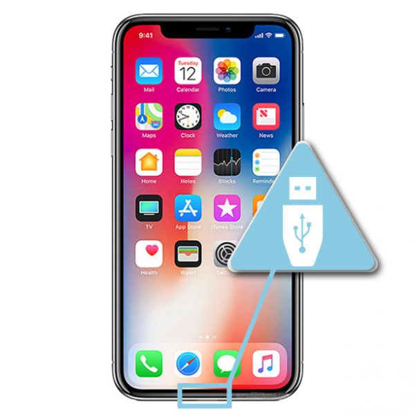 iPhone X Usb Ladeport Reparasjon