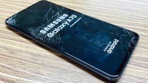 Samsung Galaxy A70 Bytte Skjerm