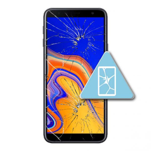 Samsung Galaxy J4 Plus Bytte Skjerm