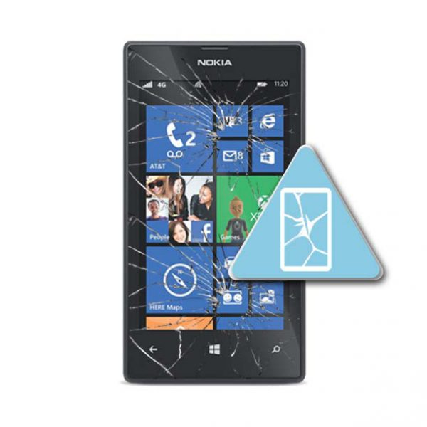 Microsoft Lumia 520 Bytte Skjerm