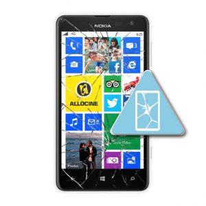 Microsoft Lumia 625 Bytte Skjerm