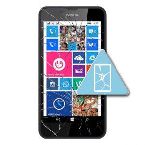 Microsoft Lumia 630 Bytte Skjerm