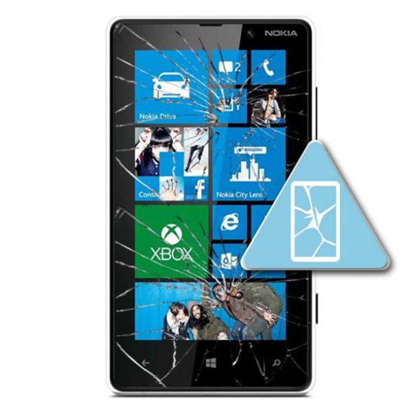 Microsoft Lumia 820 Bytte Skjerm