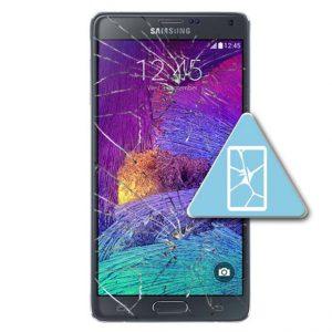 Samsung Galaxy Note 4 Bytte Skjerm