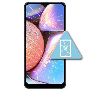 Samsung Galaxy A10S Bytte Skjerm