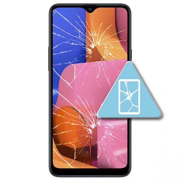 Samsung Galaxy A20S Bytte Skjerm