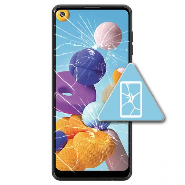 Samsung Galaxy A21 Bytte Skjerm