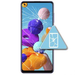 Samsung Galaxy A21S Bytte Skjerm