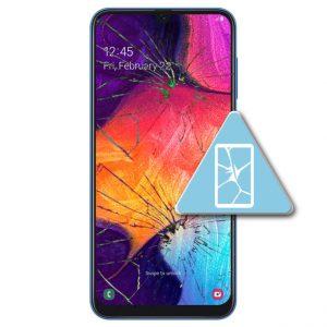 Samsung Galaxy A50 Bytte Skjerm