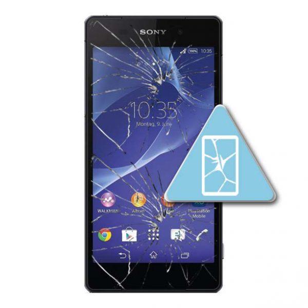 Sony Xperia Z2 Bytte Skjerm