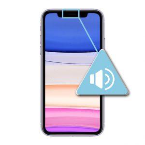 iPhone 11 Øre Høyttaler Reparasjon