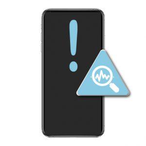 iPhone XS Max Diagonisering Av Enhet